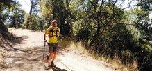 Grivel Mountain Runner Light - vista frontal en carrera