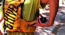 Grivel Mountain Runner Light - accesibilidad a los bolsillos laterales