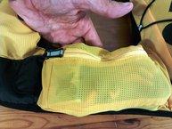 Grivel Mountain Runner Light - bolsillo lateral con plena capacidad