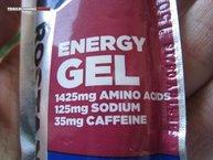 Gu Energy Roctane Energy Gel (35 mg. caffeine): Bien cargadito que va de nutrientes