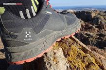 Haglöfs GRAM AM II GT: Haglöfs GRAM AM II GT: Los termosellados del upper sujetan el pie a la perfección