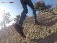Haglöfs GRAM AM II GT: Haglöfs GRAM AM II GT: Las subidas con tierra suelta son el punto débil de estas zapatillas
