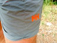 Helly Hansen Fire Active Shorts 7: Aunque resistentes, el rip-stop deja una leve marca.