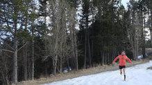Helly Hansen Lifaloft Hooded Insulator Jacket: Corriendo al atardecer por el Capcir