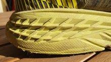 Hoka One One Evo Speedgoat: Ligera compactacion de la media de las Hoka One One EVO Speedgoat