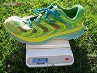 Hoka One One Speedgoat W: El peso real de las zapatillas Hoka One One Speedgoat W no se corresponden con la imagen visual que nos dan.