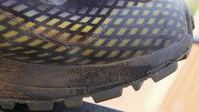 Icebug Newrun RB9 GTX: El material de la media suela se desgasta bastante