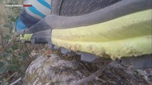 Inov-8 TrailTalon 275: La mediasuela es la parte que más ha sufrido con las  las  Inov-8 Trailtalon 275.