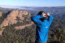 Kalenji Rain Trail: Ajustando la capucha de la Kalenji Rain Trail