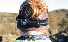 Ledlenser H8R: Vista posterior del Led Lenser H8R