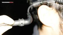 Ledlenser XEO 19 R: Led Lenser XEO 19R: Cables acodados con clip de seguridad