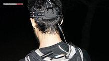 Ledlenser XEO 19 R: Led Lenser XEO 19R: El alargo permite llevar la petaca en la mochila