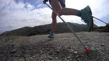 Leki Micro Trail: Leki Micro Trail, la punta viene con un florín específico para trail, pequeño y suficiente.