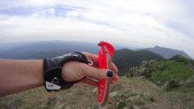 Leki Micro Trail: Leki Micro Trail vista del sistema de fijación.
