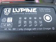 Lupine Neo X2 SC: Para saber la carga que nos queda