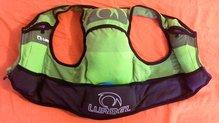 Lurbel Kyle cargado con material obligatorio para maraton de verano