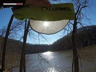 Lurbel Shade: La visera cubre perfectamende del sol.