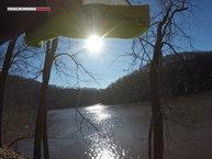 Lurbel Shade: El sol de frente sin usar la visera de la gorra Lurbel Shade.