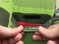 Lurbel Trail Pro: Detalle vecro interior bolsillo grande