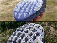 Merrell Agility Peak Flex: Merrell Agility Peak Flex: desgaste razonable tras 200 km, gran parte por terreno seco y con piedra