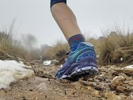 Merrell Agility Peak Flex: Merrell Agility Peak Flex: en subida con piedras se adaptan muy bien