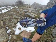 Merrell Agility Peak Flex: Merrell Agility Peak Flex: barro acumulado en día lluvioso