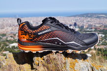 Frontal de Calzado: Merrell - All Out Crush Tough Mudder