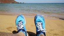 Merrell Bare Access Flex: Merrell Bare Access Flex: Nos esperan grandes aventuras. (Cala del Pilar, Camí de Cavalls, Menorca)