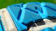 Merrell Bare Access Flex: Merrell Bare Access Flex: Los tacos, aunque presentan abrasión, el desgaste ha sido progresivo y moderado.
