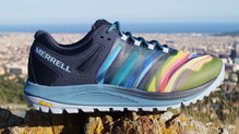 Frontal de Calzado: Merrell - Nova Rainbow