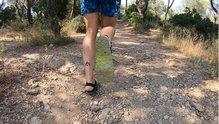 Minimal Sandals New Crep: Minimal Sandals New Crep con un buen rendimiento de la suela XS
