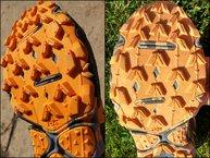 Mizuno Wave Hayate 3: Mizuno Wave Hayate 3: los tacos se han limado poco, la dureza de la goma conseguirá buena durabilidad