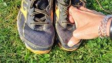 Mizuno Wave Hayate 3: Mizuno Wave Hayate 3: tras 250 km se ha despegado un poco la puntera en una de las zapatillas