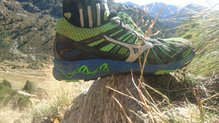 Mizuno Wave Mujin 3 GTX: Mizuno Wave Mujin 3 GTX, Wave interior muy visible