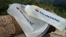 Montane Claw 14: La mochila Montane Via Claw 14 viene de serie con dos soft flask de 500ml, en nuestro caso la hemos probado con uno de 500 y otro de 250 ml.