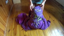 Montane Claw 14: Cargando al máximo la mochila Montane Via Claw 14.