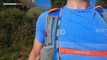 Montane VIA Jaws 10: Montane Via Jaws 10, cinta elástica en sujeción superior (regulable en altura)