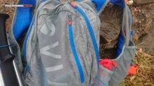 Montane VIA Jaws 10: La Montane Via Jaws 10 mojada por la lluvia