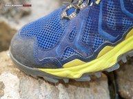 Montrail Trans Alps: Montrail Trans Alps: pequeños signos de desgaste pro rozamiento en la mediasuela