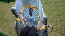 Mountain Hardwear Race Vest Pack: Mountain Hardwear Race Vest Pack: Detalle bolsillo bolsa de hidratación