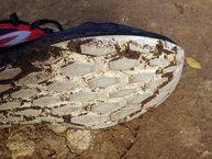 New Balance Fresh Foam Gobi: New Balance Fresh Foam Gobi: Leve desgaste de la suela