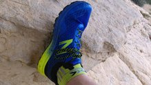 New Balance Fresh Foam Hierro v2: Cordones largos de estas New Balance Fresh Foam Hierro v2