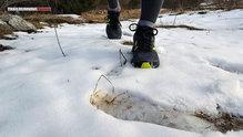 New Balance Leadville v3: En terrenos grasos las New Balance Leadville v3 no responden tan bien como en terrenos duros