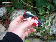 NutriSport HGel: Una vez tomado el NutriSport HGel, es muy fácil de doblar y guardar.