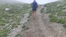 On Running Cloudventure Peak: On Running Cloudventure Peak, adherencia correcta en subidas.