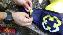 Overstims Coup de fouet: En el bolsillo de la mochila también cabe sin problema alguno