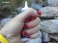 Overstims EnergiX delice (sin gluten): Los geles Overstims EnergiX delice caben perfectamente dentro de la mano.