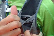 RaidLight Gilet Responsiv 8 L: Doble bolsillo para soft flask + carga