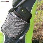 RaidLight Performer ML: Los bolsillos laterales son idóneos para portar uno o dos geles