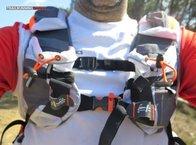 RaidLight Ultra Vest Olmo 12 L: En caso de no transportar bidones en los tirantes, poseemos dos bolsillos de gran capacidad y accesibilidad facilísima.
